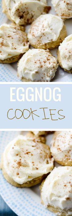 Eggnog Cookies - Recipe Diaries