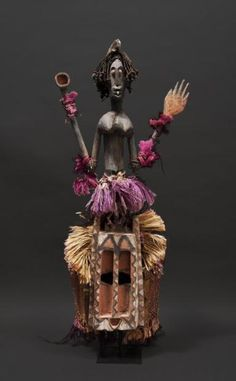 Africa | Satimbe mask from the Dogon people of Mali | ca. 1950 - 1970