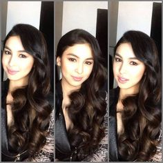 love the hair Filipina Beauty, Child Actresses, Pretty Pictures, Pretty Pics, Fashion Models, My Photos, Hair Makeup, Hair Color, Hair Beauty