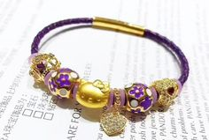 Great deal : leather bracelet ...order today get price off here!http://www.charmsilvers.com/products/leather-bracelet-with-24k-hello-kitty-charm-6-pcs-charm?utm_campaign=social_autopilot&utm_source=pin&utm_medium=pin