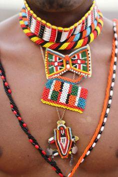 Maasai Kenya Necklac