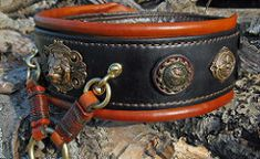 Battle Collar (OLI-COLLARS) Tags: dog leather inch hand 4 mastiff wide made collar oli neapolitan collars crafted World Best Photos, Pet Collars, Battle, Tags, Bracelets, Leather, Jewelry, Jewlery, Jewerly