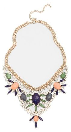 Stunning! Crystal Statement Necklace
