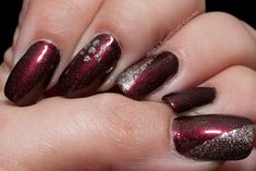 20 Burgundy Nail Designs click.to.see.more.eldressico.com