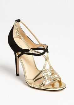 REVEL: Black   Gold Heels