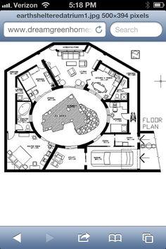 Great layout w/atrium