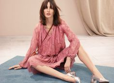 Fresh from undergoing a fashion revamp, Marks and Spencer are aiming to sit with the elite high street brands. High Street Brands, Catwalk, Lace Dress, Latest Trends, Kimono Top, Vogue, Spring Summer, My Style, Fashion Trends