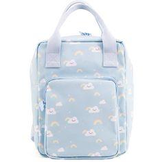 Eef Lillemor - rugzak - Rainbow - regenboog - blauw #backpack #school #pastel #eeflillemor #littlethingz