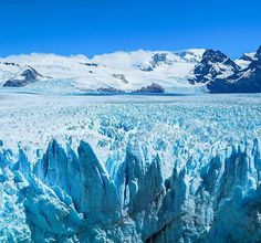 The incredible Perito Moreno Glacier is a must see in Argentine Patagonia. Pic @travelexplorecapture Explore Buenos Aires & Patagonia in one incredible tour. Details http://ift.tt/1Qkcm2Z or click on the link in bio