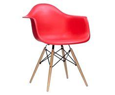 Cadeira Finella Wood, inspiração Charles Eames