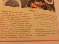 Hawaj spice blend for Yemenite soup