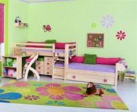 dětská postel DOMINO 6 Zvýšené jednolůžko posuvné