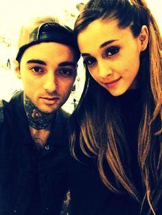 Ariana and friend