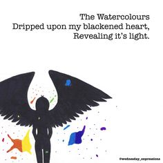 Watercolours | Wednesday Expressions on Patreon | Patreon  Poem Illustrated & Written by Nina LT  Online Store at society6.com/wednesday_expressions Please check it out and leave a like on what you love!  Got an idea that you would like to see illustrated, or a drawing of mine you want on my store? Please leave a comment below . . . . . . . #wednesdayexpressions #society6 #patreon #prints #poetry #illustrator  #onlineshop #shoponline #shop #store #illustration #art #handmade #ink #quotes…