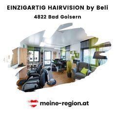 Das Beste für Deinen Look! EINZIGARTIG HAIRVISION by Beli lässt deine Haarträume Realität werden. In den Salons bieten sie sämtliche Friseurdienstleistungen für Damen, Herren und Kinder und ein wenig mehr in herrlich entspanntem Ambiente. Bei allen Stylings kommen ausschließlich hochwertige Produkte von Sebastian, Vidal Sassoon und Goldwell zur Anwendung. Hast du in letzter Zeit mal darüber nachgedacht dir einen neuen Look zuzulegen und wohnst in der Nähe von Bad Goisern?↘️ Bad, Salons, Outdoor Decor, Home Decor, New Looks, Unique, Things To Do, Products, Homes