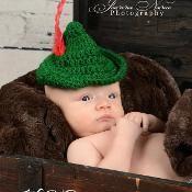 Peter Pan Hat - via @Craftsy