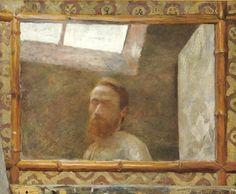 Edouard Vuillard   Autoportrait au miroir de bambou (1890)