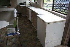 Kitchen renovation, January 2009