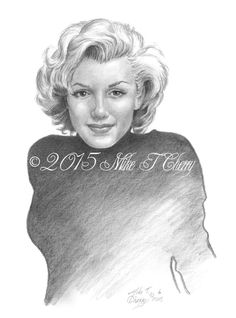 Marilyn Monroe by miketcherry on DeviantArt   | This image first pinned to Marilyn Monroe Art board, here: http://pinterest.com/fairbanksgrafix/marilyn-monroe-art/ || #Art #MarilynMonroe