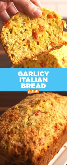 Garlicky Italian BreadDelish