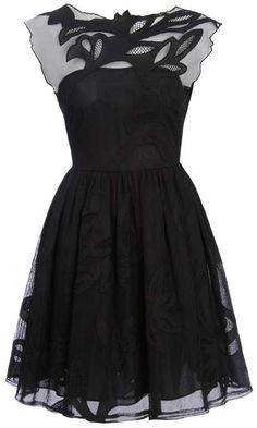 ASOS AW12 Gothic Prom Dress, £95