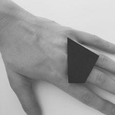 Form B Ring by Phoebe Joel | http://adornmilk.com