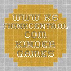 www-k6.thinkcentral.com kinder games