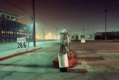 Gas Pumps Near Sugar Refinery, Vancouver, 1981, by Greg Girard