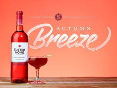 A nod to classic New England flavors, our Autumn Breeze wine cocktail combines our lighter, full-bodied White Merlot with peach schnapps, crisp apple cider, and a pinch of cinnamon.