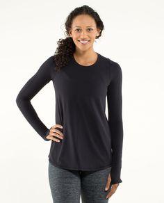 tuck and flow long sleeve | women's tops | lululemon athletica