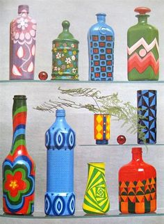 "Photo from ""Crafts for Fun and Profit"" (1974) by Eleanor Van Zandt.  Blogged here: www.sallysetsforth.com/index/vintage-craft-books-27-june-  No copyright infringement is intended."