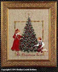Oh Christmas Tree da Lavender & Lace - Schemi Punto Croce - Schemi Punto Croce - natale - Casa Cenina