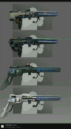 Man-portable Hvy Railgun Project Zues