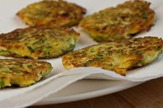 Servings: 12 Fritters Ingredients 1 pound zucchini (about 2 medium ...