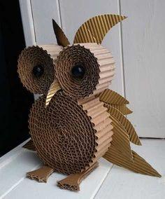 Diy Crafts For Home Decor, Paper Crafts For Kids, Fall Crafts, Paper Flowers Craft, Flower Crafts, Grandma Crafts, Egg Carton Crafts, Cardboard Crafts, Ornament Crafts