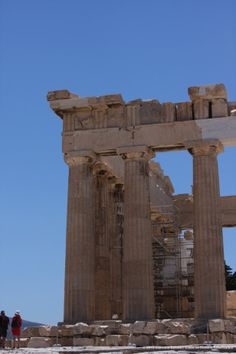 Parthenon - If you go to Athens, you must visit the Acropolis. Tips on Girls Just Like Us