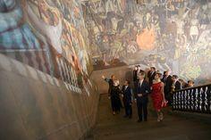 Dîner de roi Felipe et la reine Letizia de la visite au Mexique - Jour 1 | NEWMYROYALS & FASHION HOLLYWOOD