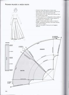 Clippedonissuu From La Tecnica Dei Mode - Diy Crafts Sewing Pants, Sewing Clothes, Sewing Coat, Doll Clothes, Dress Sewing Patterns, Clothing Patterns, Coat Patterns, Shirt Patterns, Modelista