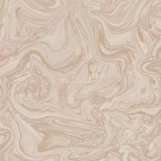 Sample Marbled Wallpaper in Pebble and Rose Gold from the Pure Collection by Graham & Brown