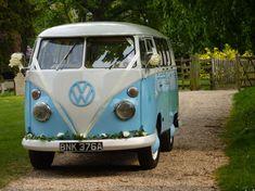 blue hippie van - Google Search