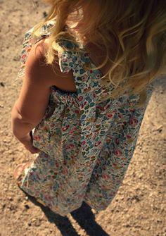 kaunis pieni elämä - blog Liberty/ sewed by = www.novamelina.com My Little Girl, Style Ideas, Liberty, Corner, Summer Dresses, Casual, Blog, Fashion, Moda