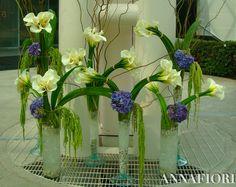 Arreglos florales con alcatraces