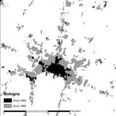 urbanizzazione #Bologna 1955-1993 Bologna, Map, World, Pictures, Cement, Italia, Photos, Location Map, Maps