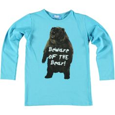 'Beware of the bear' leuk O'Chill shirt.