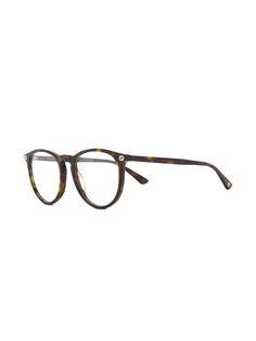 be555a1771d7 Gucci Eyewear Tortoiseshell Glasses - Farfetch