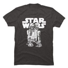Shop Officially Licensed Star Wars shirts featuring original art from the Design By Humans community. Star Wars t-shirts, tanks, sweatshirts, hoodies. Cool Tees, Cool T Shirts, Starwars, Star Wars Outfits, Best T Shirt Designs, Disney Shirts For Family, Disney Outfits, Disney Clothes, Star Wars Tshirt
