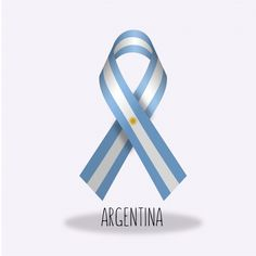 Lazo con diseño de bandera de argentina Vector Gratis Ad Design, Free Design, Ribbon Logo, Ribbon Design, Instagram Feed, Flag, Blue And White, Vector Freepik, Gaucho