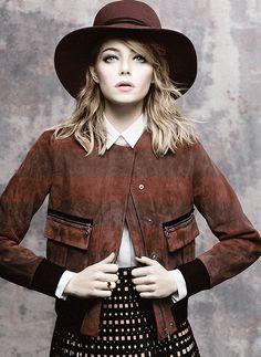 Emma Stone   Vogue,