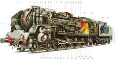Výsledek obrázku pro parna lokomotiva
