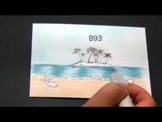 Coloring water scene with Copics from Color of Happy by Shelby Copic Pens, Copic Sketch Markers, Copics, Copic Markers Tutorial, Spectrum Noir Markers, Colored Pencil Tutorial, Coloring Tutorial, Art Impressions, Colouring Techniques